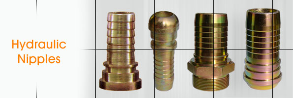 Hydraulic Nipples Hydraulic Female Nipples Hydraulic Hose Pipe Fitting Nipples manufacturers suppliers in india punjab ludhiana